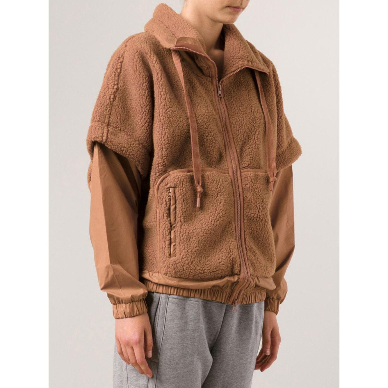 Fleece Women's Teddy Jacket Stella Adidas Mccartney Weekender qwScag