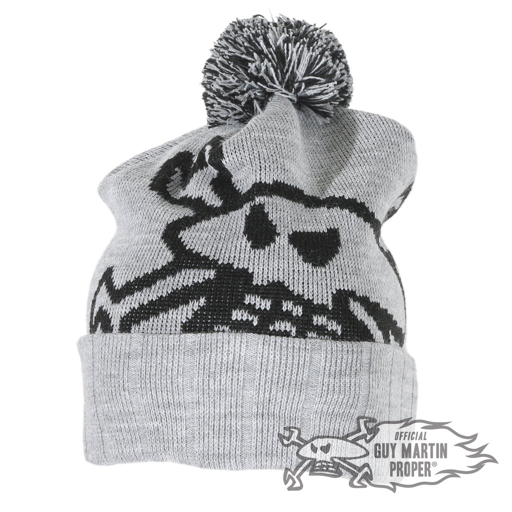 b05a0a15394 Details about Guy Martin  Been On The Pies  Head Gasket Bobble Hat   Beanie  PomPom