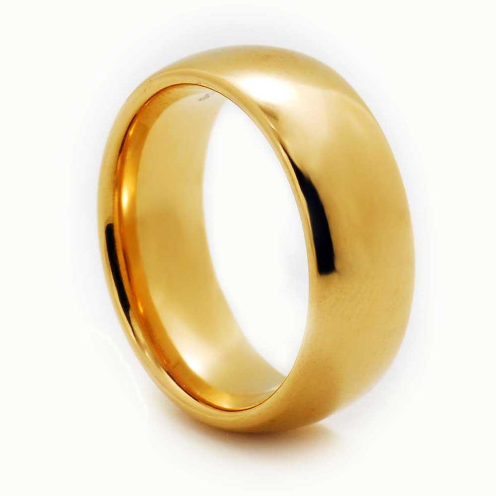 Tungsten-Carbide-Wedding-Band-Men-Women-Engagement-Bridal-Ring-Silver-Gold-Black thumbnail 9