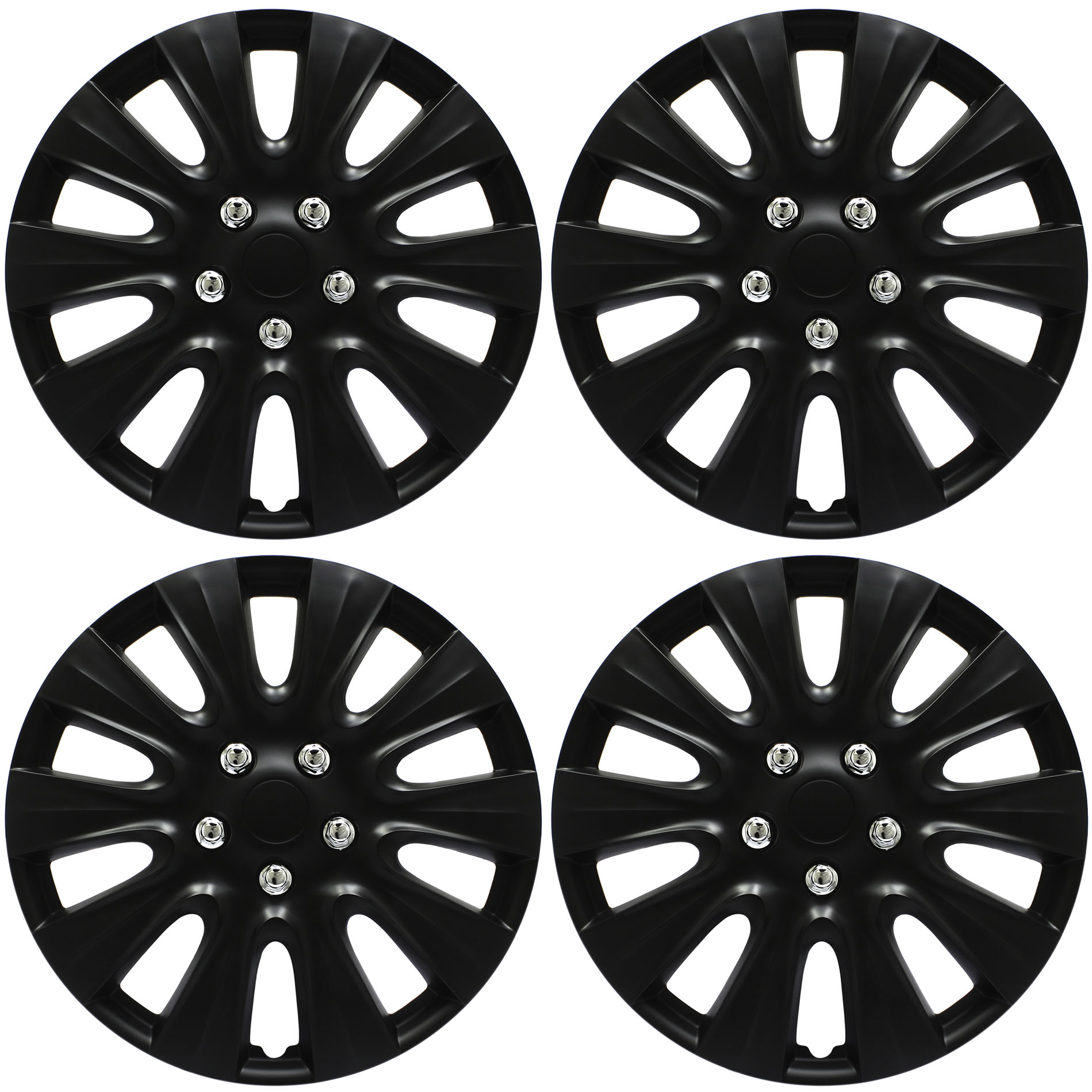 4pc hub cap black matte 17 inch for oem rim wheel replica cover 1934 Ford Truck details about 4pc hub cap black matte 17 inch for oem rim wheel replica cover covers caps
