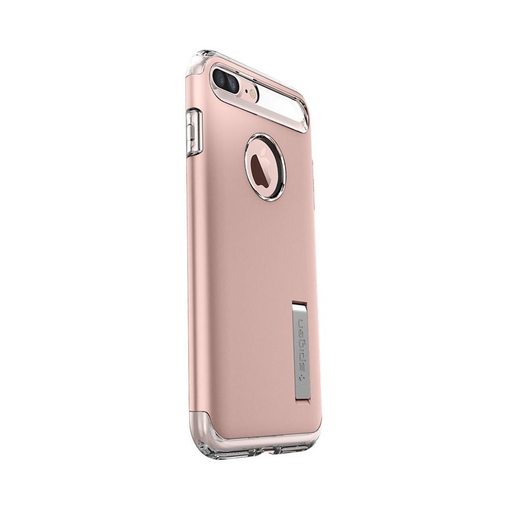 Spigen Slim Armor Kickstand Case for iPhone 7 Plus - Rose Gold
