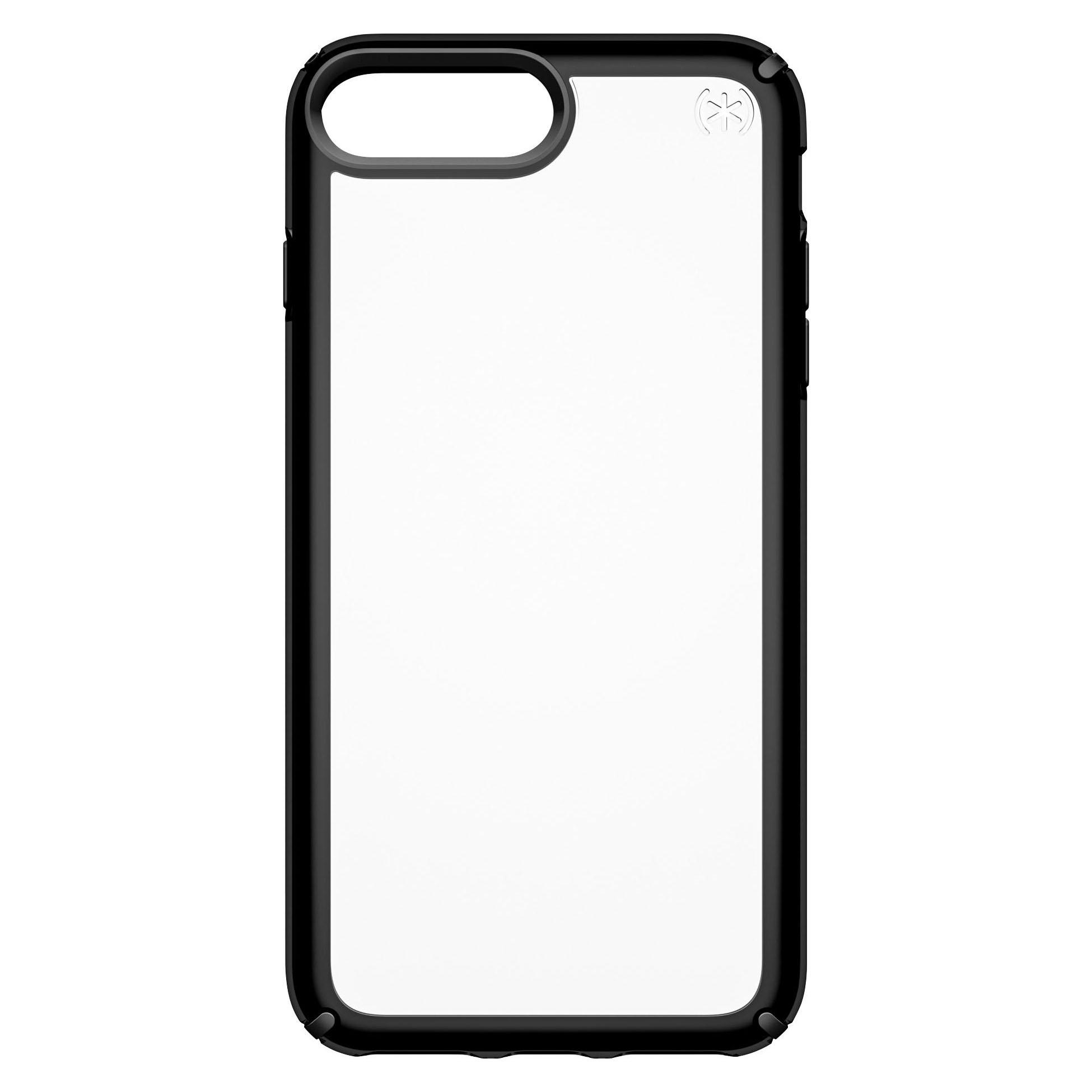 Speck Presidio Show Case for iPhone 7 Plus, 8 Plus - Black/clear