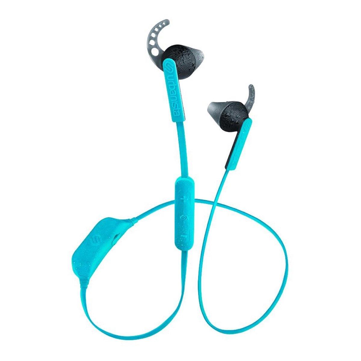 Urbanista Boston Bluetooth Sport Earphones with Mic Coral Island/Turquoise