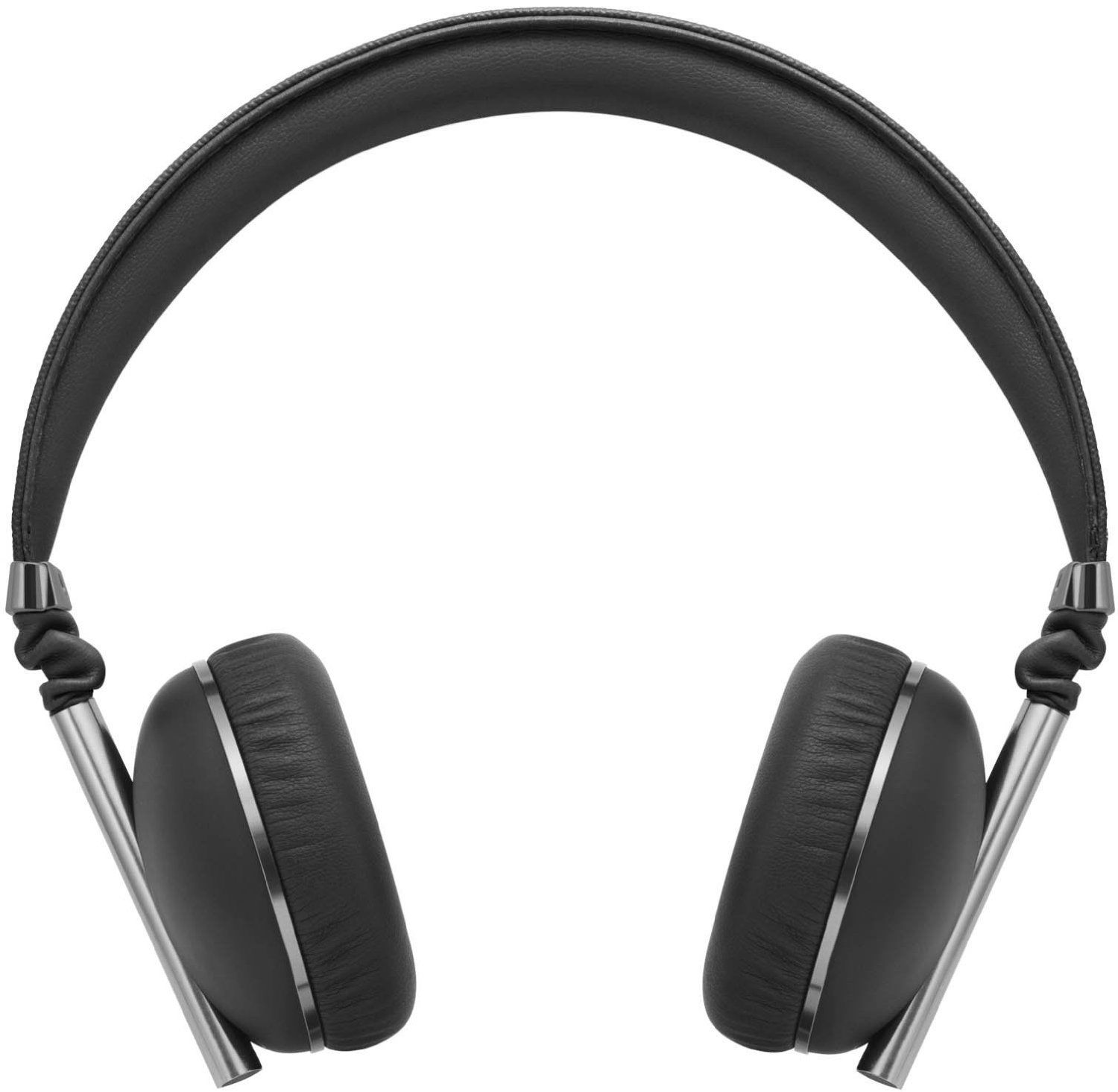 Caeden Linea N°1 On-Ear Headphone for iOS and Android - Convex Carbon & Gunmetal BLACK
