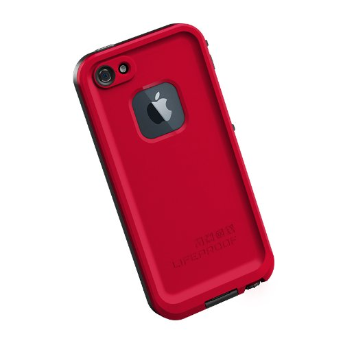 sports shoes ef9a9 9dbeb LifeProof Fre Waterproof Case for iPhone 5 - Red/Black