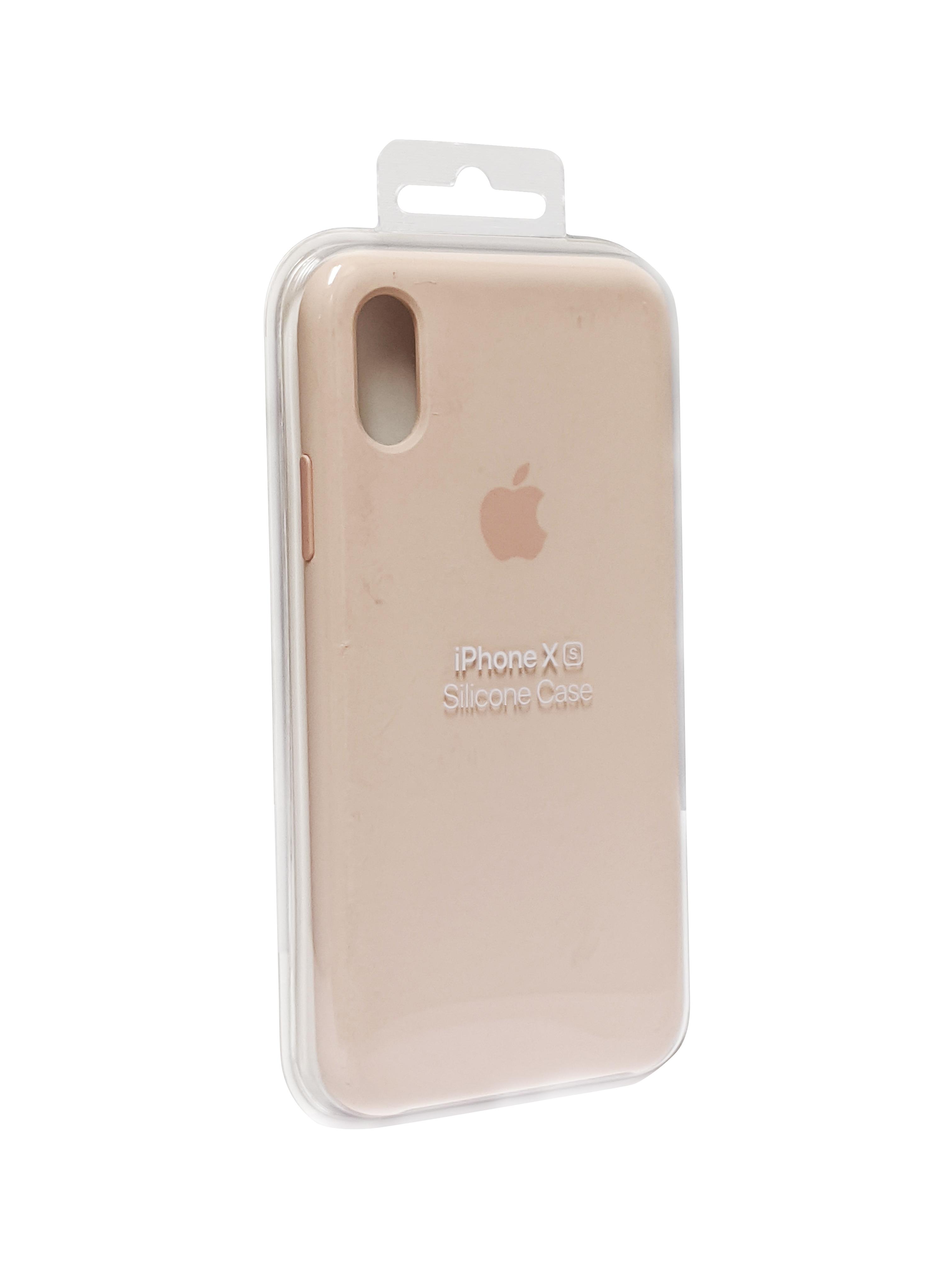 Original Apple iPhone X/XS Silicone Case - Pink Sand
