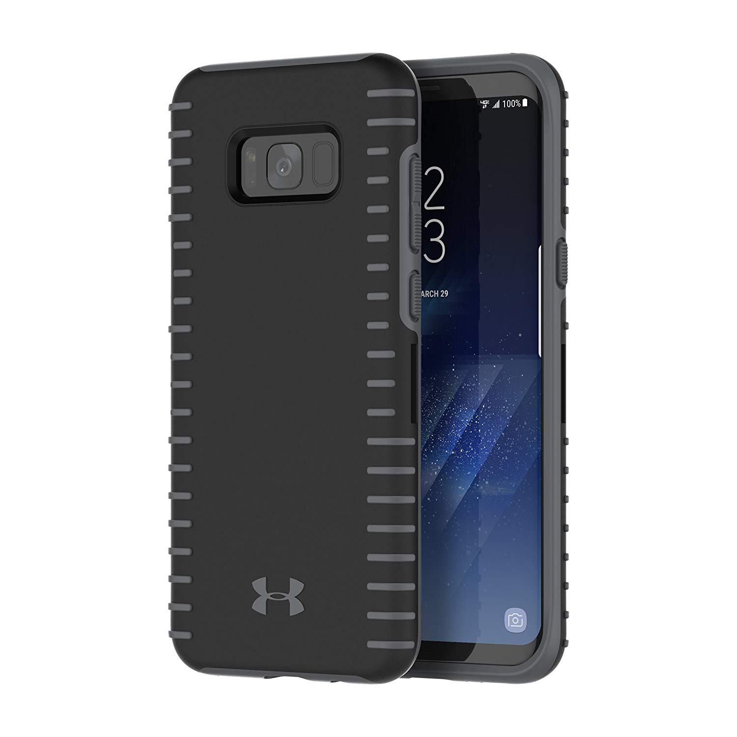ced7c4f5 Under Armour UA Protect Grip Case for Samsung Galaxy S8+ - Black/Graphite
