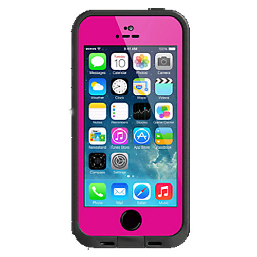 super popular 92660 41d1b LifeProof Fre Waterproof Case for Apple iPhone 5/5s - Magenta Pink