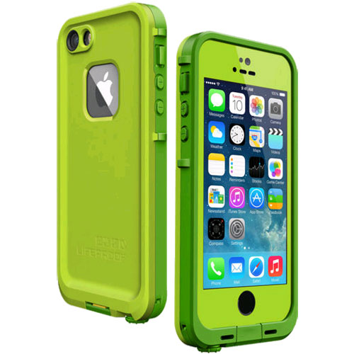 best authentic 4ae1f db423 LifeProof Fre WaterProof Case for iPhone 5/5s - Lime Green