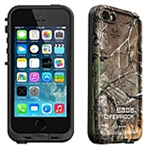 LifeProof Fre Realtree Waterproof Case for Apple iPhone 5s 5 - Black RealTree  Xtra 56545ae0b7c4
