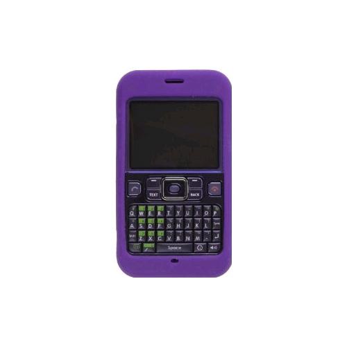 Wireless Solution Silicone Gel Case for Sanyo Juno SCP-2700 - Purple