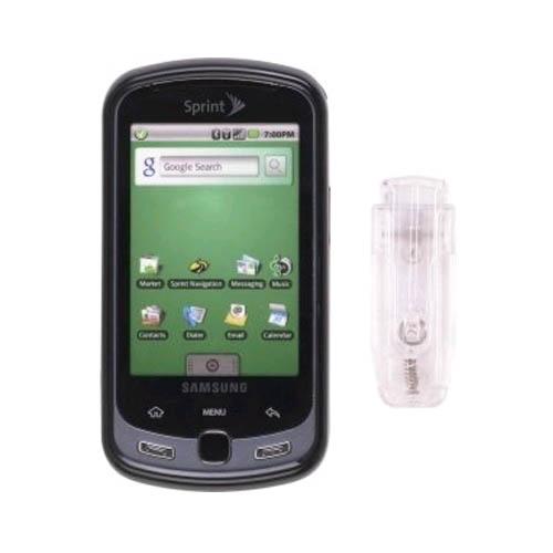 Snap-On Case for Samsung SPH-M900 Moment/Instinct Q (Black)
