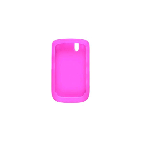 Wireless Solutions Silicone Gel Case for BlackBerry Bold 9650, Tour 9630 - Light Pink