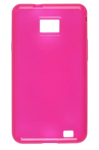 Wireless Solutions Dura-Gel Case for Samsung II SGH-i777 Galaxy S - Pink