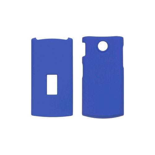 LG GD570 Soft Touch Snap-On Case - Blue