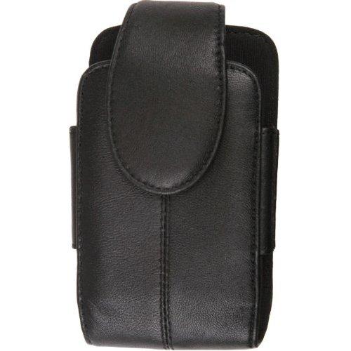 Wireless Solutions Premium Leather Pouch for Motorola Q9c,Q9h,Q9m,Q9eNapoleon - Black