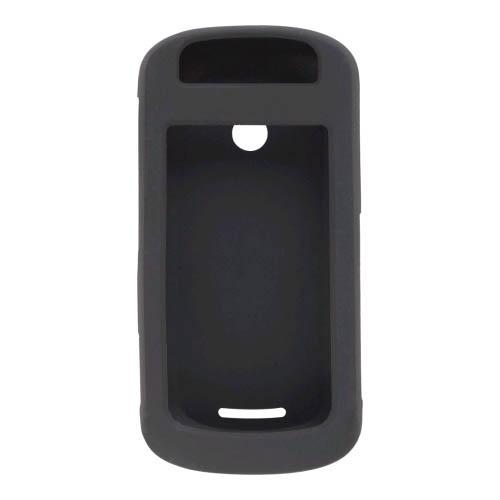 Black Silicone Gel Case for Motorola Crush W835