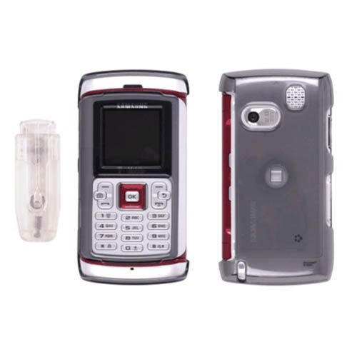 Wireless Solutions Snap-On Clip Case for Samsung T559 Comeback - Smoke