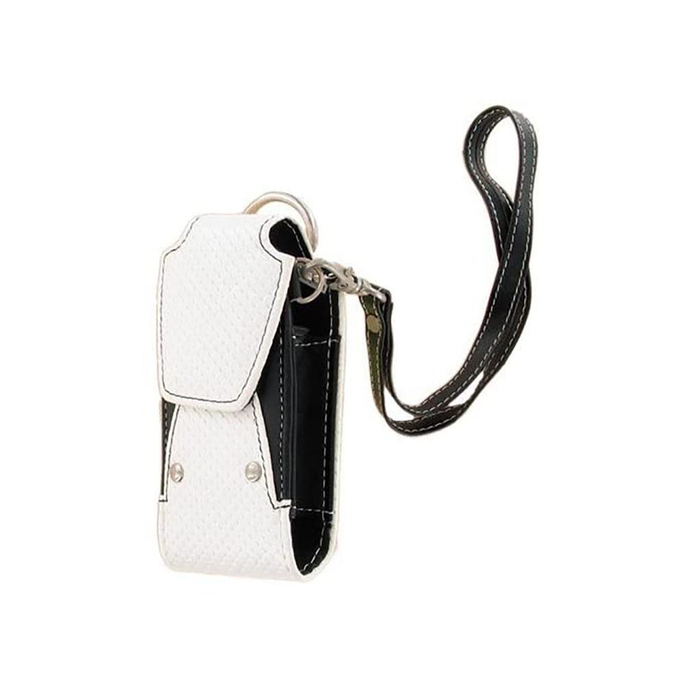 Xentris Universal Slim Fashion Rugged Bag with Wrist Strap - Black/White