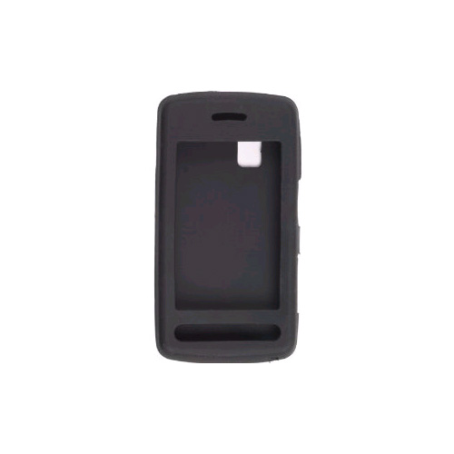 Wireless Solutions Silicon Gel Case for LG Vu CU915, CU920 (Black)
