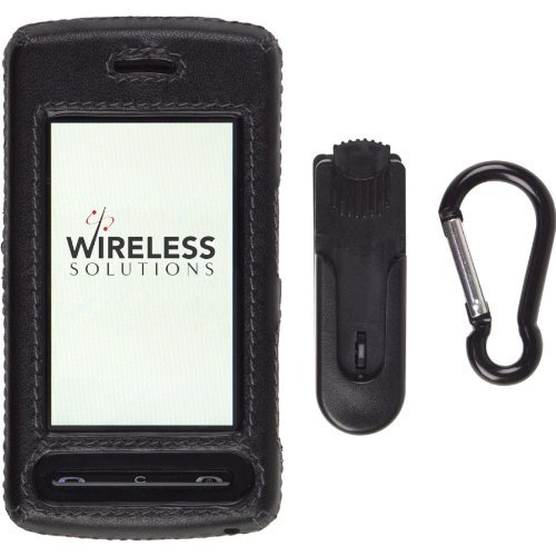LG CU915, CU920 Clip-on Case - Leather Black