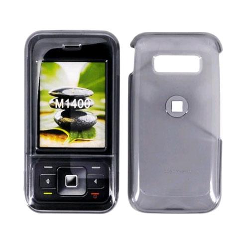 MetroPCS Snap-On Case for Kyocera M1400 (Translucent Smoke)