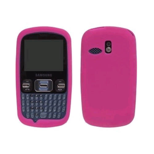 Wireless Solutions Silicone Gel Case for Samsung R350 Pinger - Watermelon
