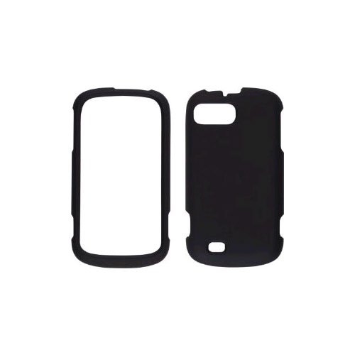 Wireless Solutions Soft Touch Snap-On Case for ZTE Sean/Fury/ N850 - Black