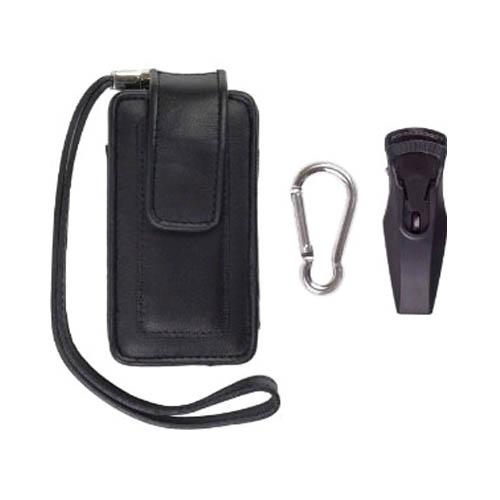 Universal. Medium size. Fitted Vertical Pouch for LG AX300, VX8560 Chocolate 3; Motorola RAZR2 V9m, RARZ V3m