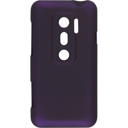 Wireless Solutions Color Click Case for HTC EVO 3D - Eggplant.