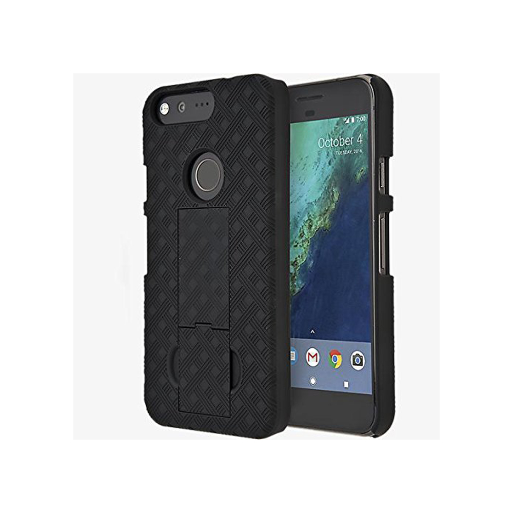Verizon Shell Case Belt Clip Holster for Google Pixel (1st gen) - Black