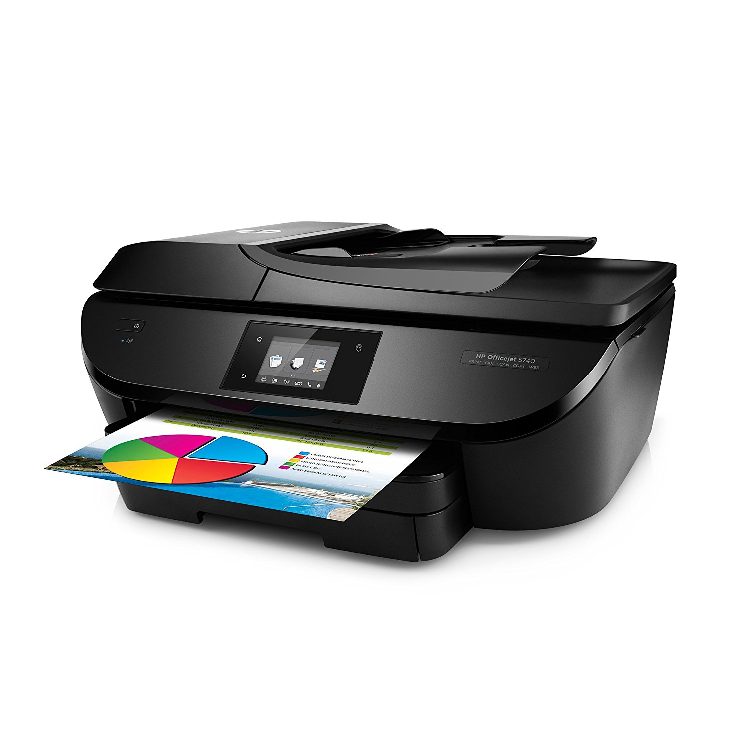 how to add hp officejet 5740 printer