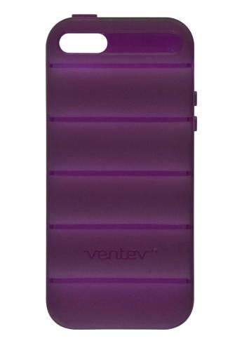 Ventev - SlipGrip Case for Apple iPhone 5/5S Cell Phones - Plum Purple