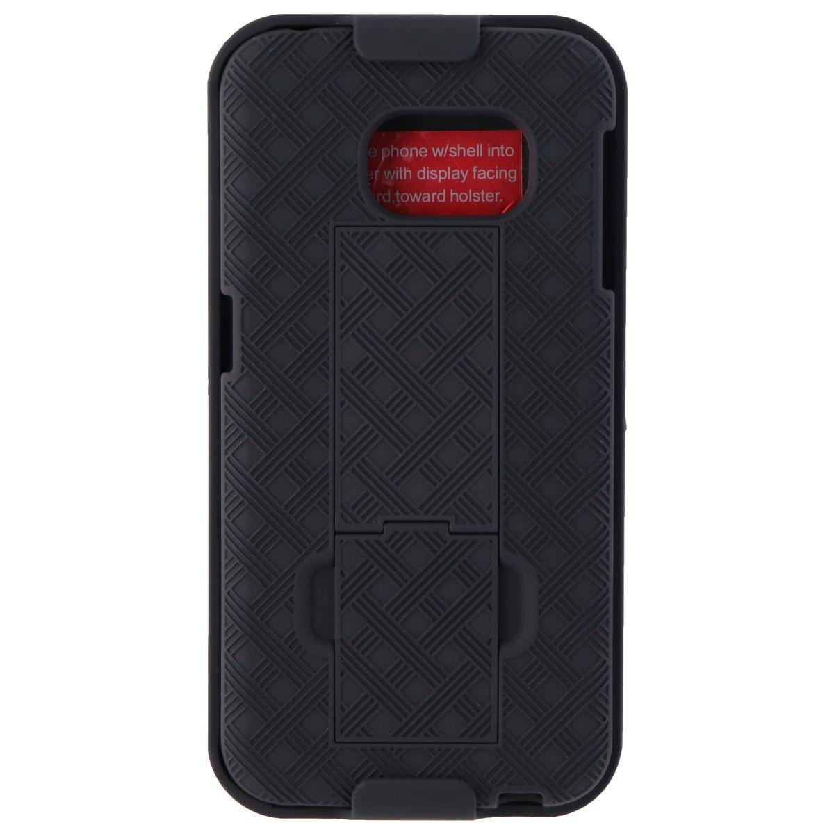 Verizon Shell Holster Combo for Samsung Galaxy S6 Edge - Black