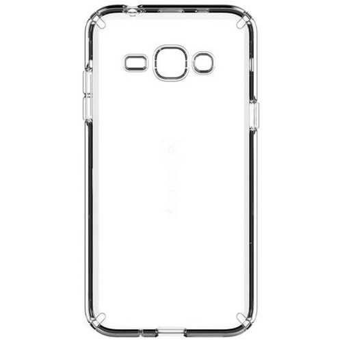 new arrival 53015 d1e1d Speck CandyShell Hybrid HardShell Case for Samsung Galaxy J3 (Clear)