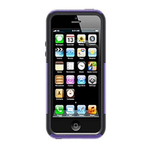 f34f436d2c5 OtterBox Commuter Case for Apple iPhone 5 / 5S / SE - GRAVITY??(Purple/Black )