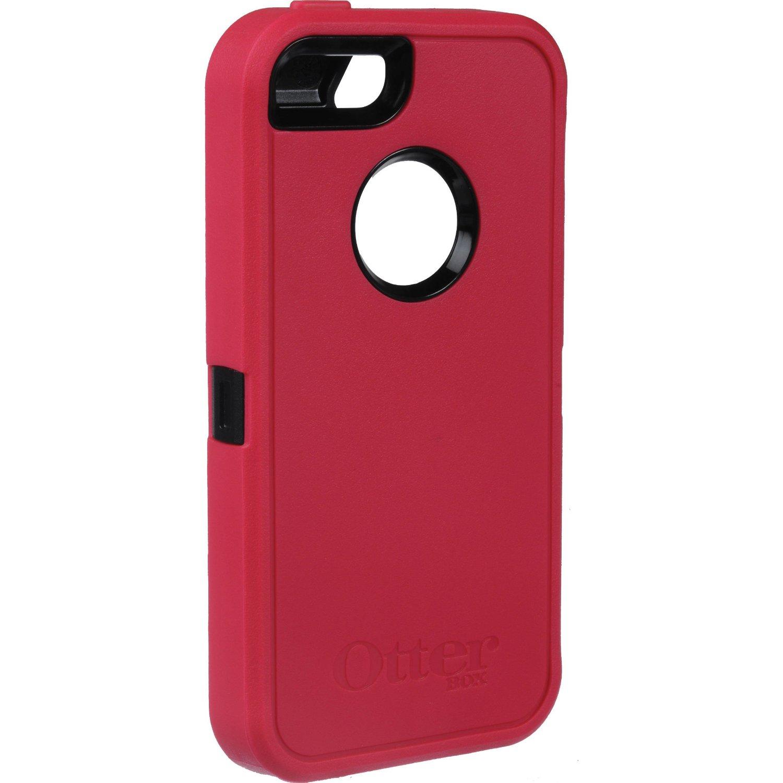 super popular 99b62 080fe OtterBox Defender Case for Apple iPhone 5/5S - Raspberry