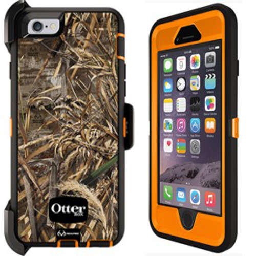 570245832582 OtterBox Defender Case for Apple iPhone 6 6S - Max 5 Blaze (Blaze Orange Black Max  5 Design)