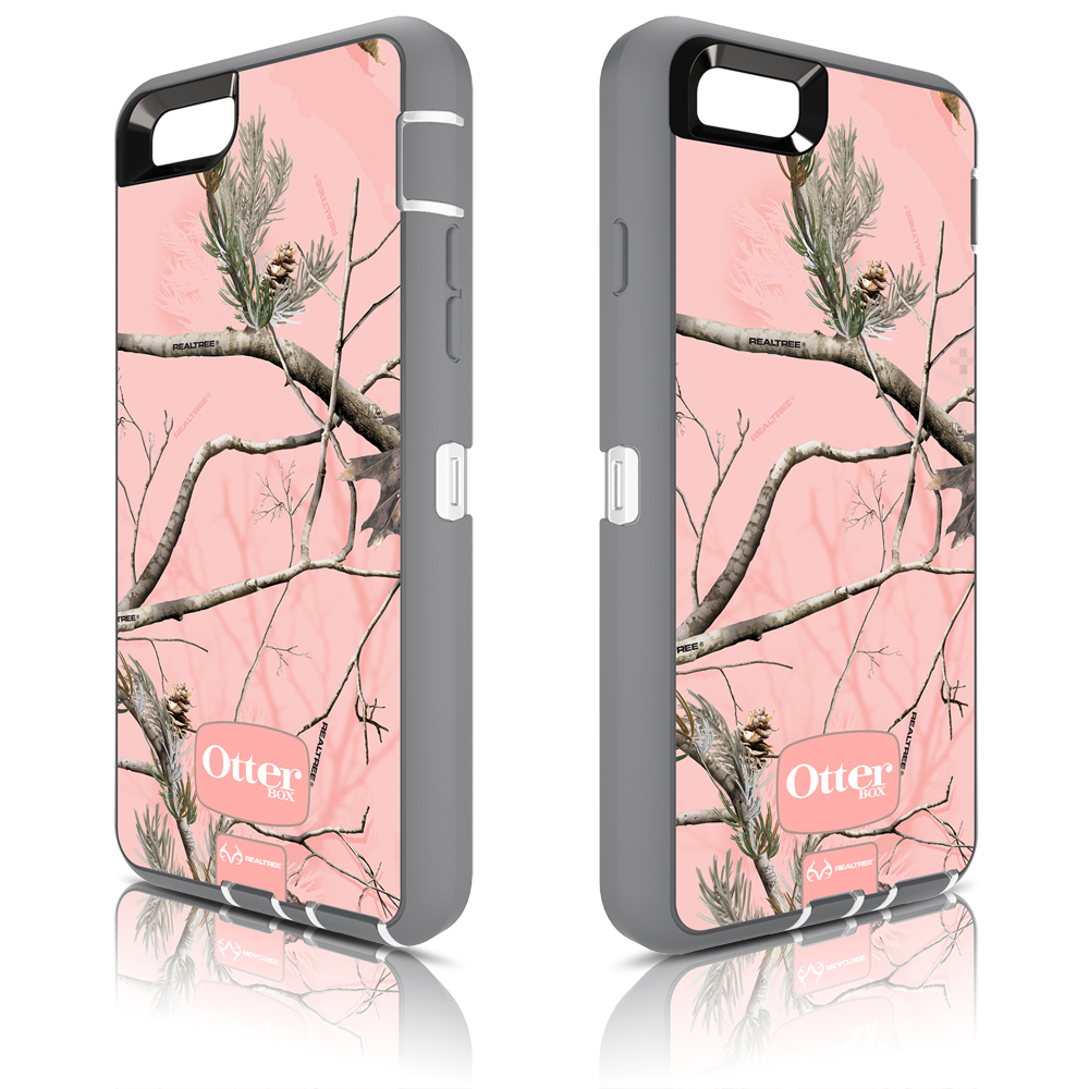 more photos 25374 9f1f8 OtterBox Defender Case for Apple iPhone 6/6s - Realtree AP Pink/Camo  (White/Gunmetal Grey Ap Pink)