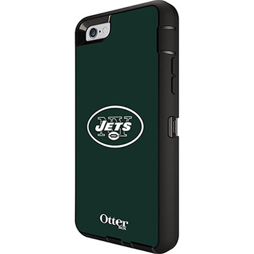 big sale d70c2 8d79c OtterBox Defender Case for Apple iPhone 6/6S - NFL New York Jets
