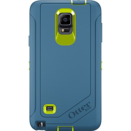 save off b2862 240c2 OtterBox Defender Case for Samsung Galaxy Note 4 - Electric Indigo (Citron  / Deep Water)