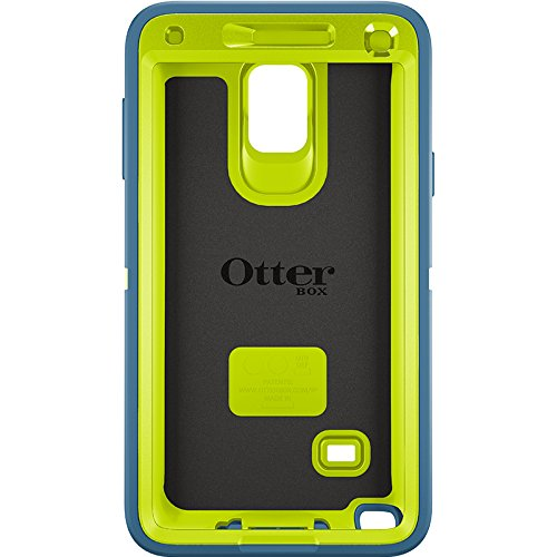 save off 7ad91 0131d OtterBox Defender Case for Samsung Galaxy Note 4 - Electric Indigo (Citron  / Deep Water)
