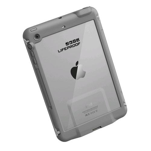 LifeProof Fre Waterproof Case for iPad Mini, Mini 2, Mini 3 - Avalanche (White/Gray)