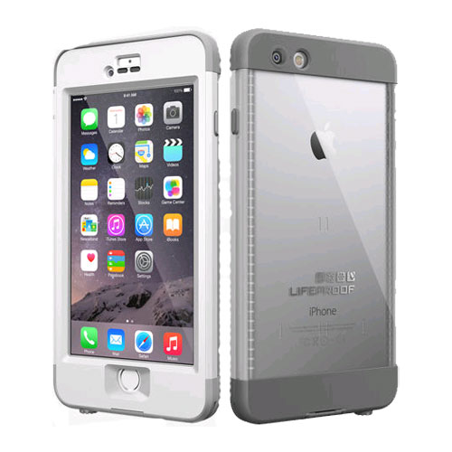 best service 511d5 3f84a LifeProof Nuud WaterProof Case for Apple iPhone 6 Plus - White