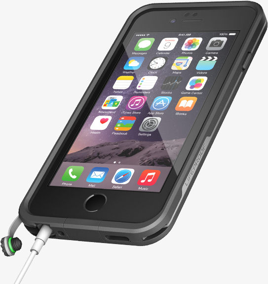 Lifeproof Fre Waterproof Case for Apple iPhone 6 6s - Black 1b21a1762cd0