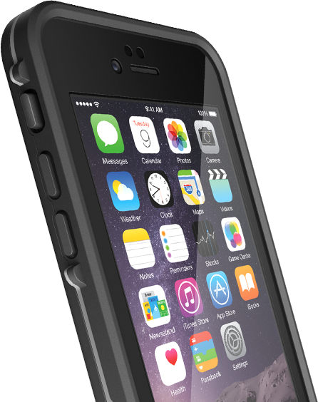 lifeproof case for iphone 6 lifeproof fre waterproof for apple iphone 6 6s black 2178
