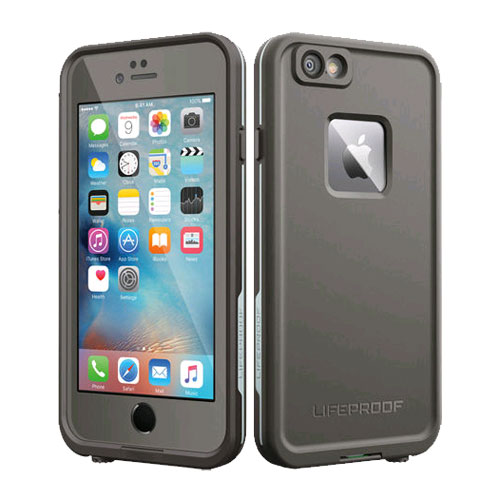 new product f0a92 52c1d LifeProof Fre WaterProof Case for Apple iPhone 6/6s - Grind Gray