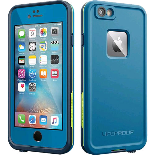 size 40 8194a a264c LifeProof Fre WaterProof Case for Apple iPhone 6 Plus/6s Plus - Banzai Blue