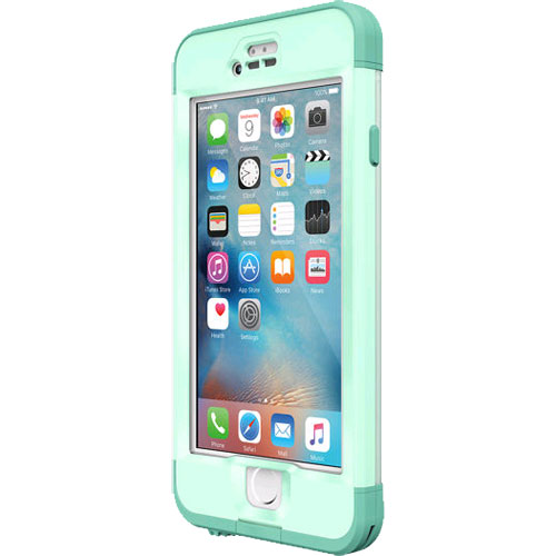 online retailer 298d2 e9734 LifeProof Nuud WaterProof Case for Apple iPhone 6s Plus - Undertow (Aqua  Sail Blue/Clear/Tail Side Teal)