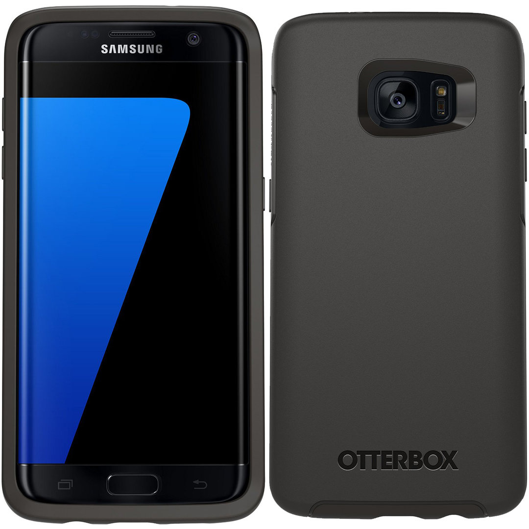 cheap for discount 63cad 67cae OtterBox Symmetry Case for Samsung Galaxy S7 Edge - Black